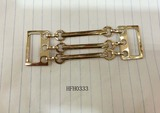 Gold col hardware for shoes/cloths