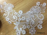 Delicate embroidery trim