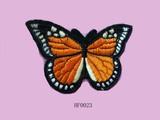 Butterfly shape appliqué