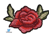 Wholesale embroidery flower patch for clothing