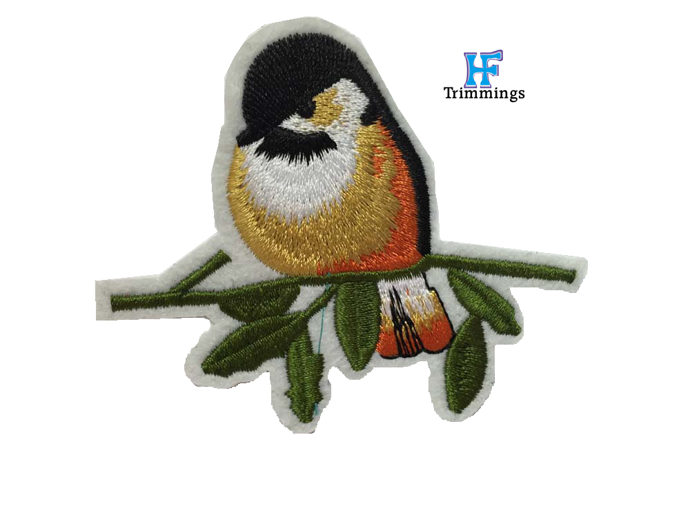 custom embroidered patch Animal design