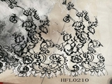 Flower shape lace trim for cloths